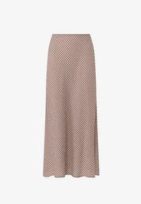 OYSHO - A-line skirt - brown - 1