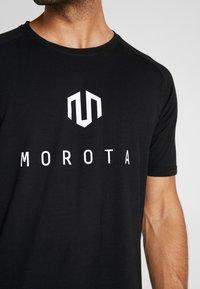 MOROTAI - Print T-shirt - black - 6