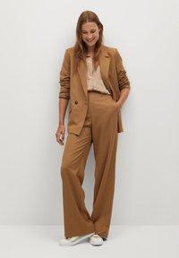 Mango - VAMPI-A - Button-down blouse - beige - 1