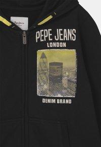 Pepe Jeans - ROBERT - Zip-up hoodie - washed black - 2