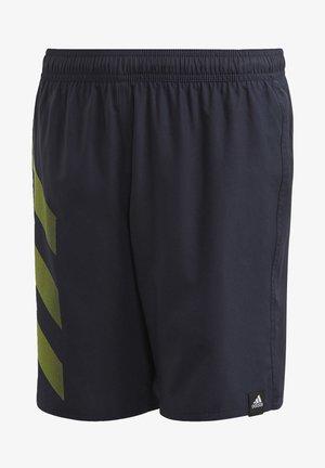 BOLD 3-STRIPES SWIM SHORTS - Swimming shorts - blue