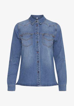 PZJOSIE  - Button-down blouse - light blue denim