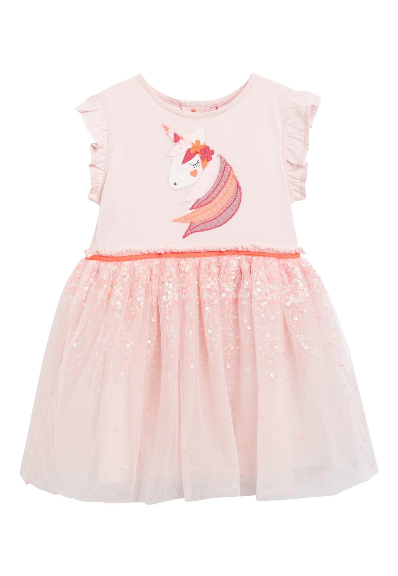 Next - PALE PINK PARTY DRESS (3MTHS-8YRS) - Cocktail dress / Party dress - pink
