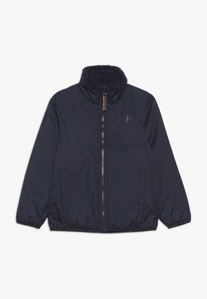 REVERSIBLE PILE JACKET - Outdoor jacket - navy