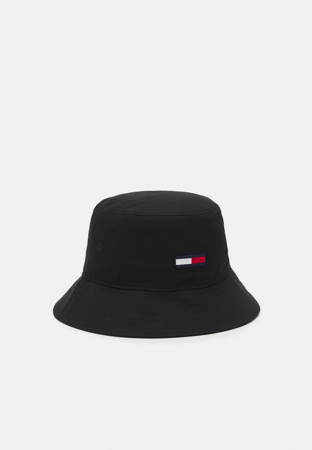 FLAG BUCKET UNISEX - Hattu - black
