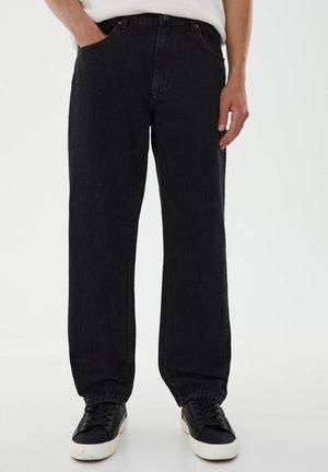 STRAIGHT FIT - Straight leg jeans - black