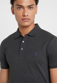 Polo Ralph Lauren - SLIM FIT MODEL - Polo shirt - dark grey heather - 5