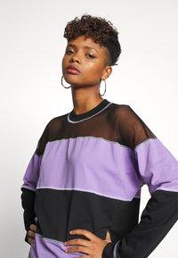The Ragged Priest - SKATER DRESS - Jersey dress - black/purple - 3