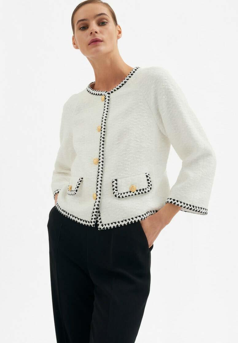 Luisa Spagnoli - VITE - Light jacket - panna