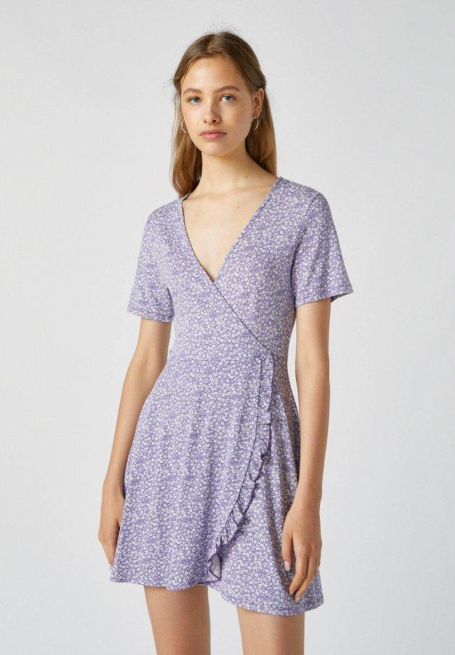 Robe d'été - mauve