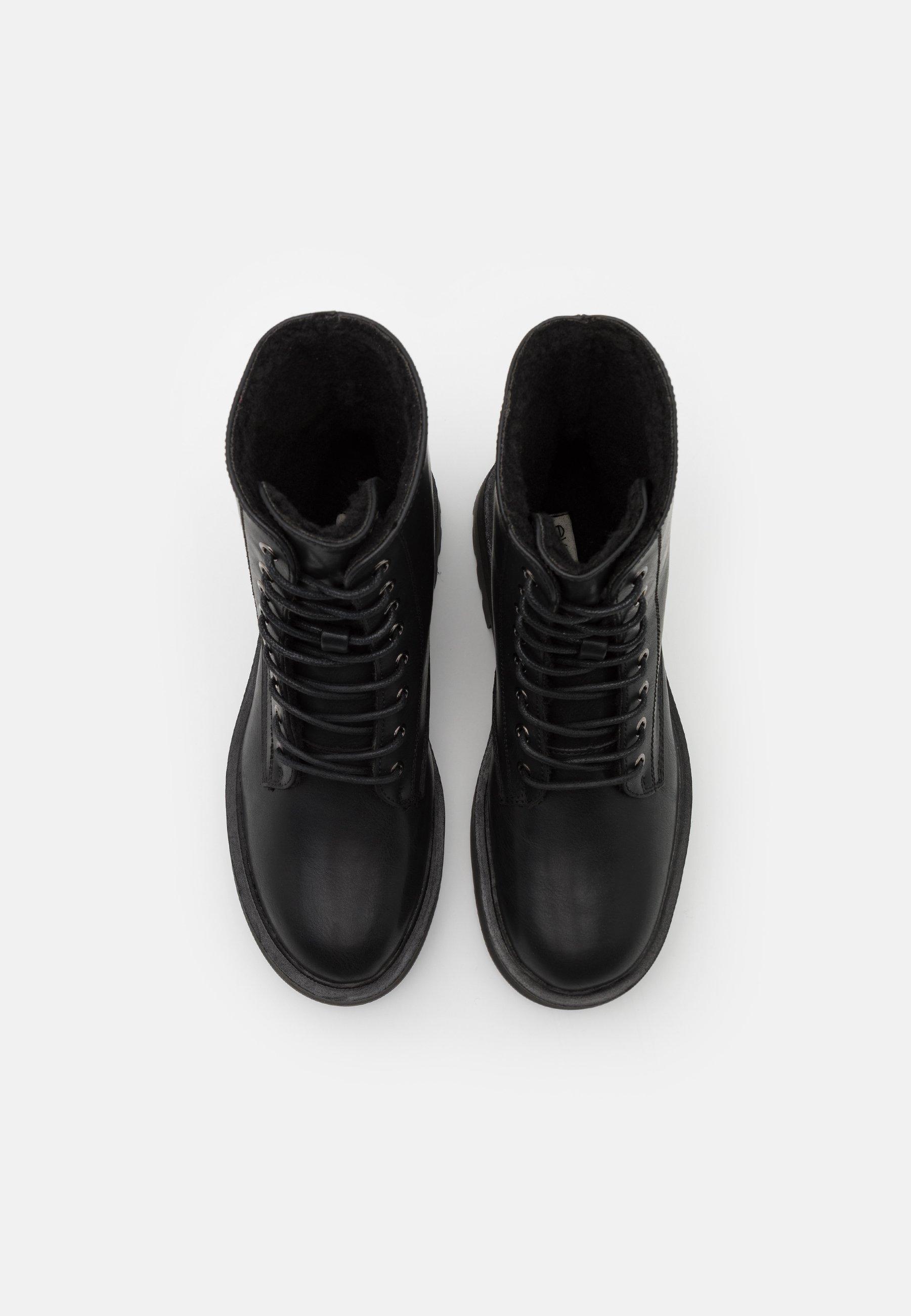Even&odd Wide Fit Platåstøvletter - Black/svart