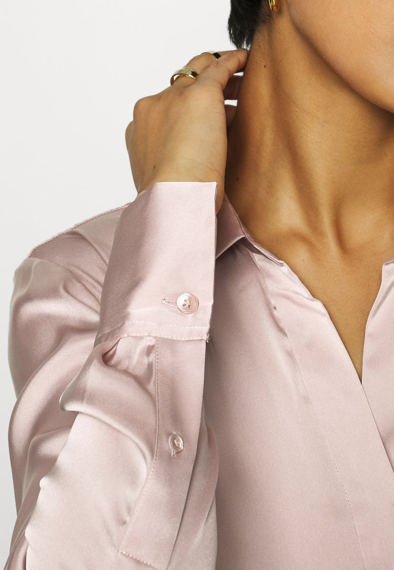 ARKET BLOUSE - Bluse - pink dusty light/rosa y97A3s