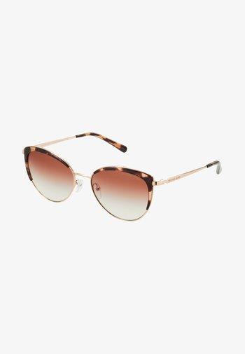 KEY BISCAYNE - Sluneční brýle - rose gold-coloured