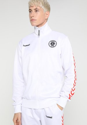 ALFRED ZIP JACKET - Trainingsvest - white