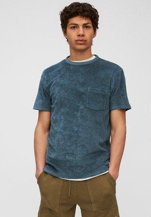 T-shirt basic - grayish petrol