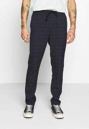 ONSLINUS LONG CHECK  - Pantalon classique - dark navy