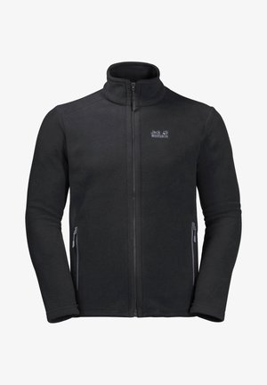 Fleece jacket - schwarz