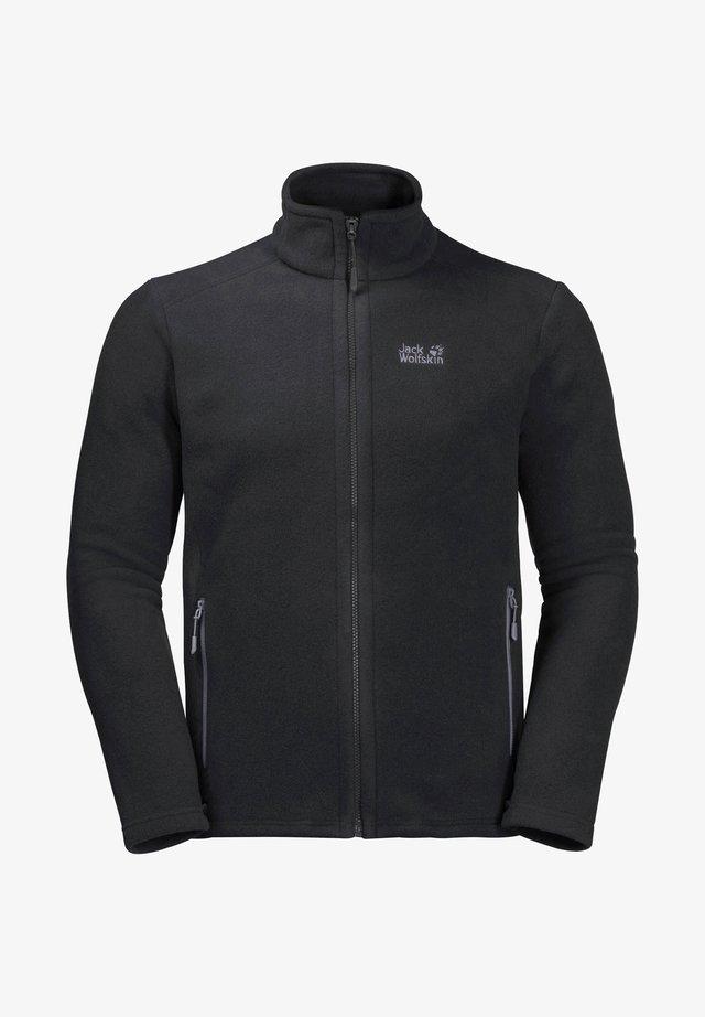 MIDNIGHT MOON - Fleece jacket - schwarz