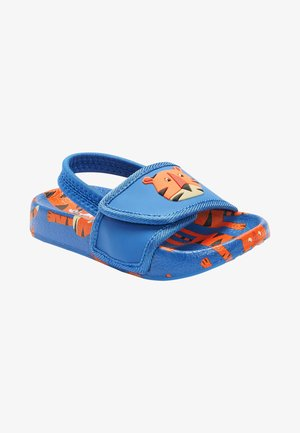 Pool slides - blue