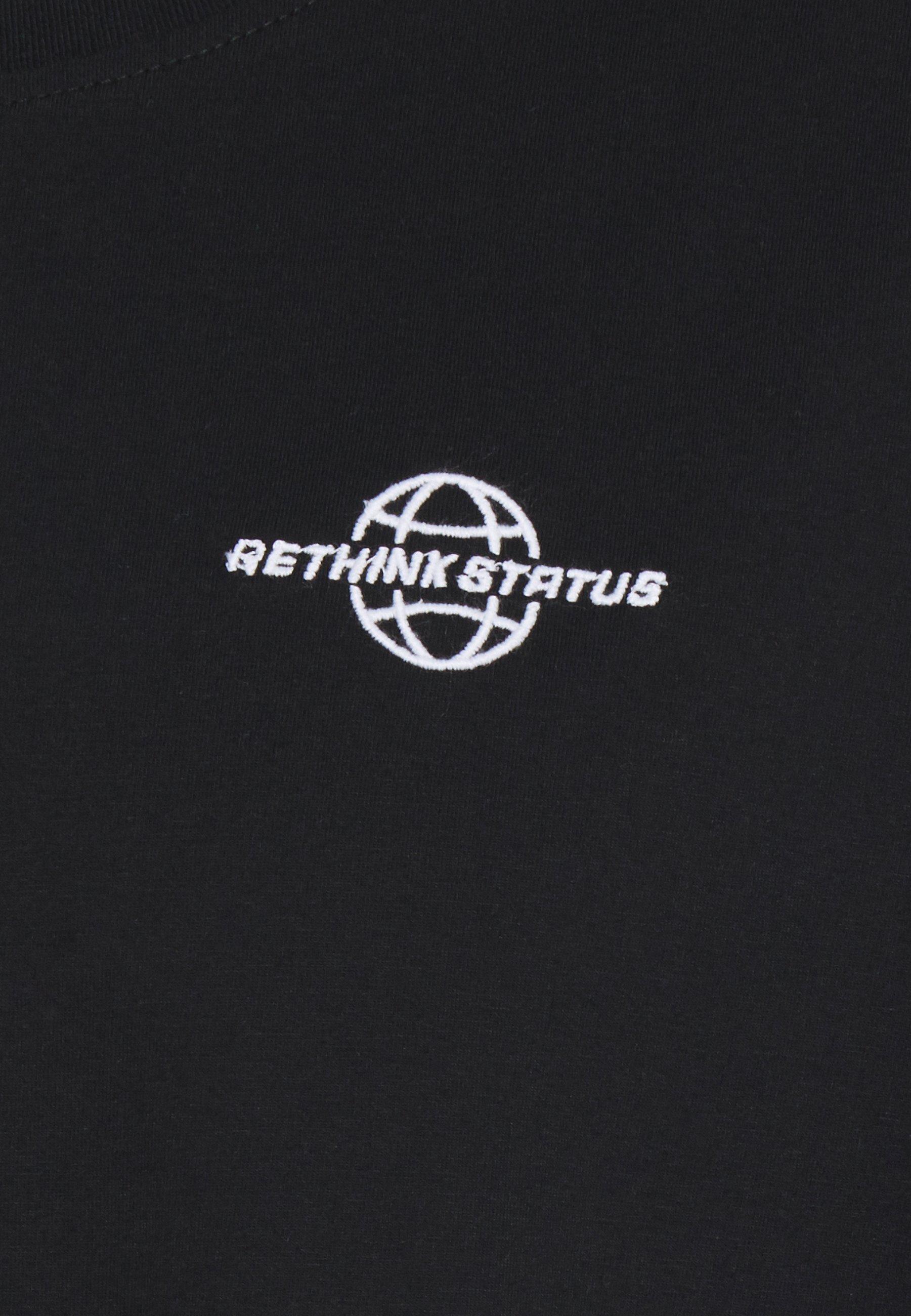 RETHINK Status Print T-shirt - black ZpvgD