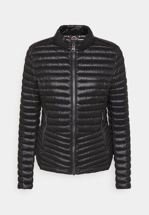 LIGHT JACKET NO HOOD - Down jacket - black dark steel