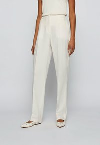 BOSS - Trousers - natural - 0