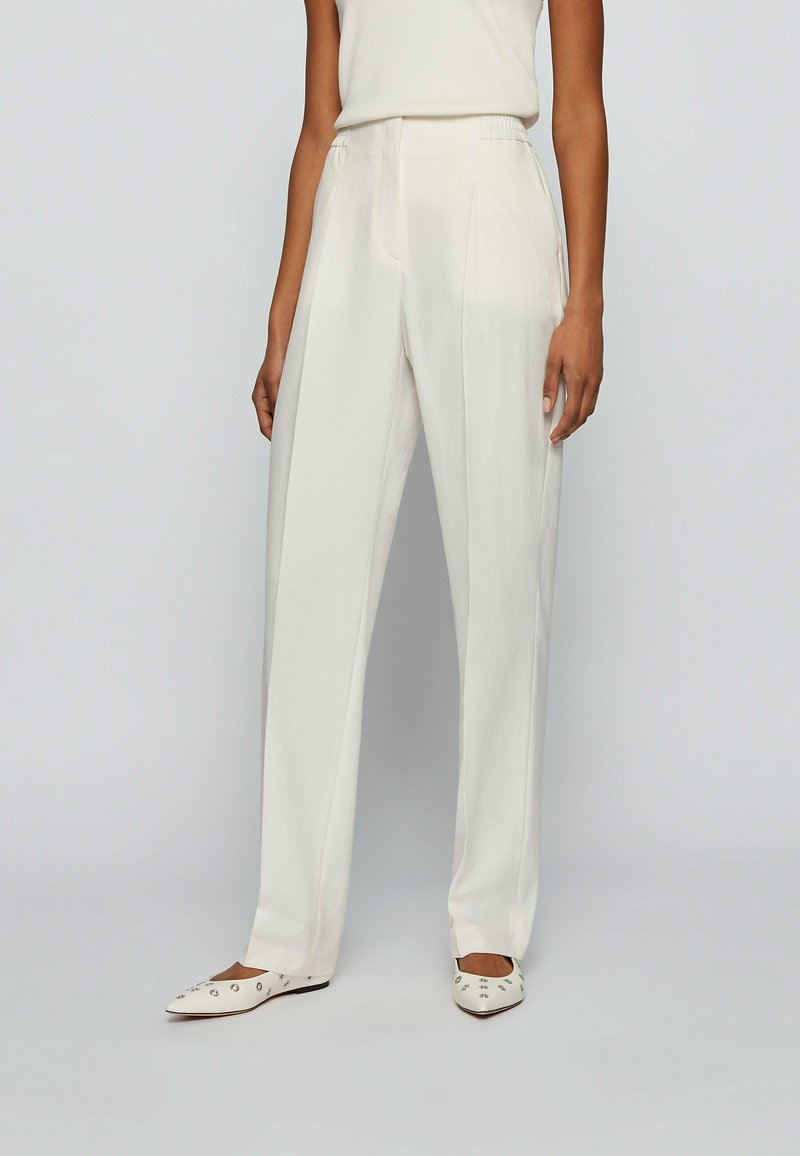 BOSS - Trousers - natural