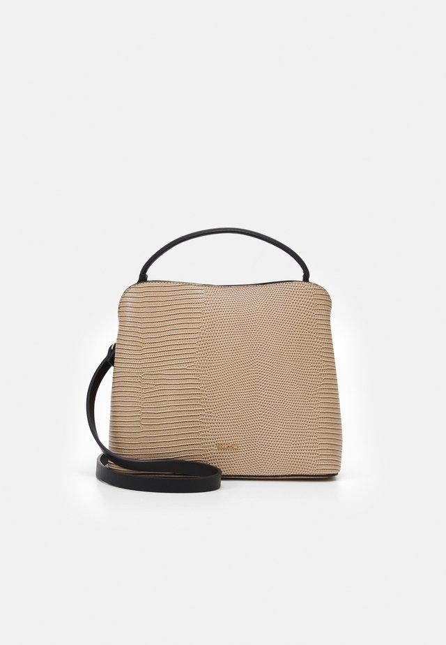 TOTE CHARM - Shopping bag - ecru