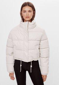 Bershka - Winter jacket - white - 0