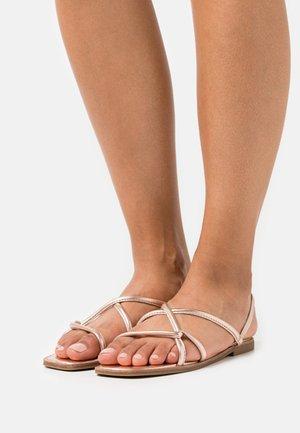 TOOSIEFLEX - Sandals - rose gold