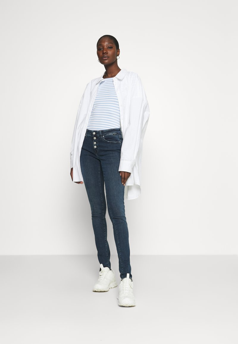 Mavi - ADRIANA - Jeans Skinny Fit - dark brushed