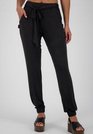 ALICE - Trousers - black