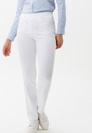 STYLE PAMINA - Jeggings - white