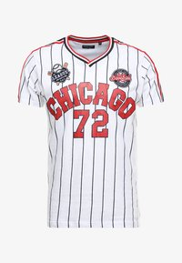 TIGON - T-shirt con stampa - white