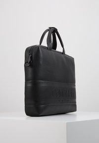 Calvin Klein - STRIPED LOGO - Aktówka - black - 4