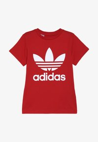 adidas Originals - TREFOIL - Print T-shirt - red - 2