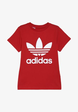 TREFOIL - T-shirt con stampa - red