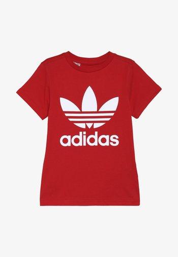 TREFOIL - Print T-shirt - red