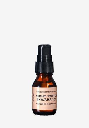 NIGHT SWITCH BHA/AHA 10% 15ML - Serum - neutral