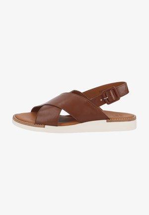 Sandały - nougat
