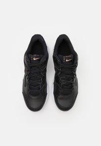 Nike Performance - LITE 2 - Scarpe da tennis per tutte le superfici - black/metallic red bronze/white - 3