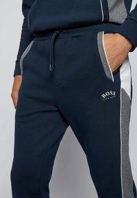 BOSS - SAGGY  - Sweater met rits - dark blue - 3