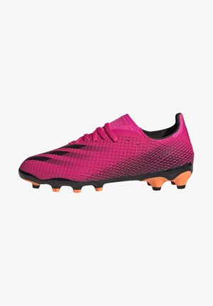 Moulded stud football boots - pink