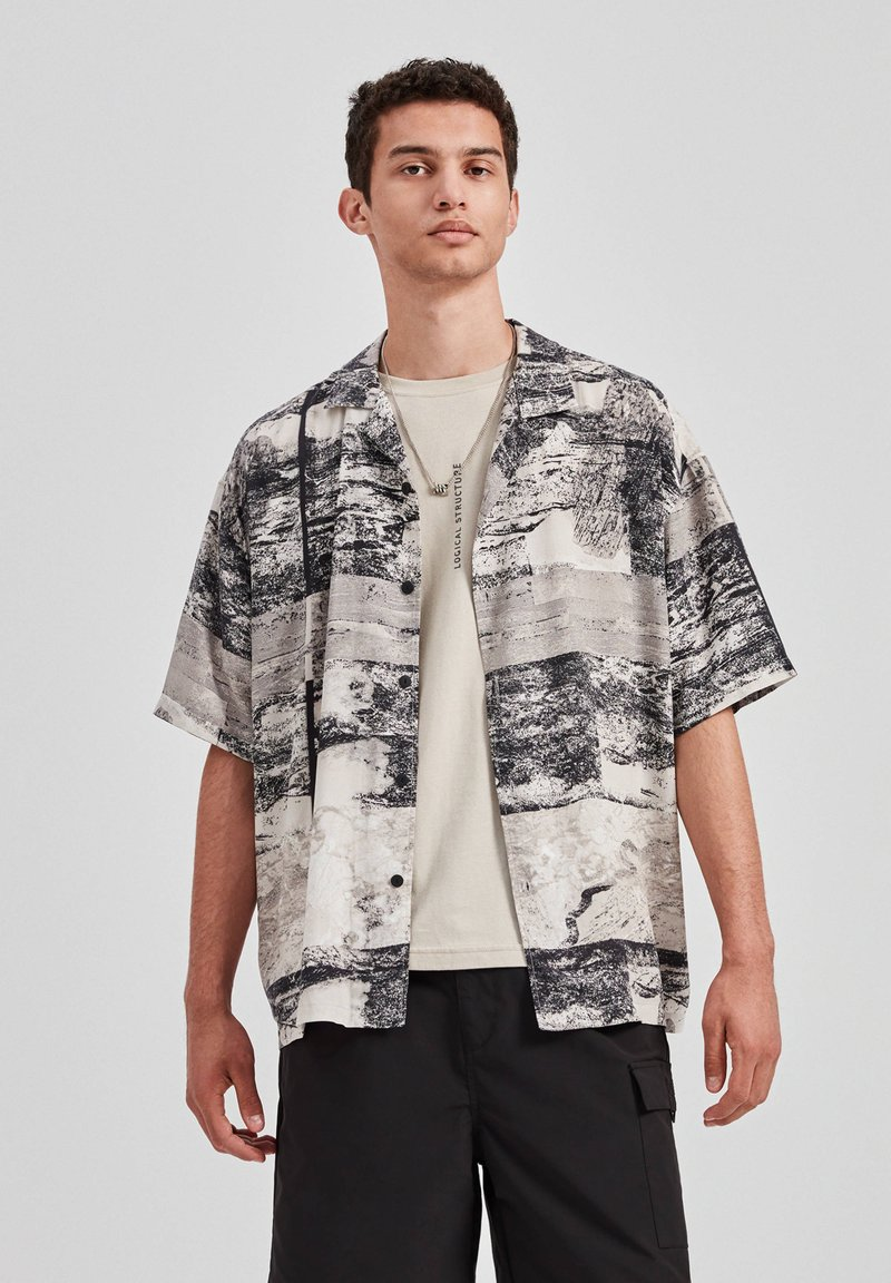 PULL&BEAR - Overhemd - grey
