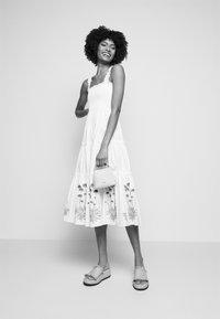Tory Burch - SMOCKED DRESS - Day dress - new ivory - 4