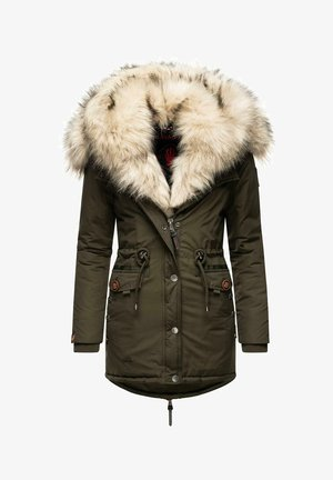 SWEETY - Žieminis paltas - olive