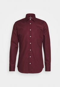 Seidensticker - MODERN KENT X SLIM - Formal shirt - bordeaux - 4