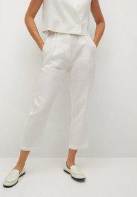 Mango - Trousers - offwhite - 0