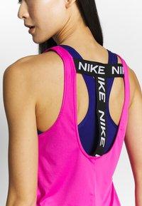 Nike Performance - DRY VICTORY ELASTIKA TANK - Sports shirt - active fuchsia - 4