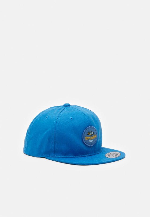DIAMOND CHECK BOY - Cap - mid blue
